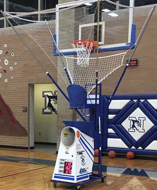 cheap basketball shooting machine